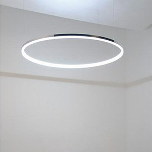 Pendelleuchte led ring rose gold led ring pendant light for Led deckenleuchte modern