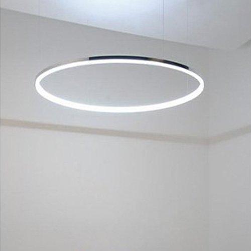 led ring pendelleuchte modernes design fuer wohnzimmer