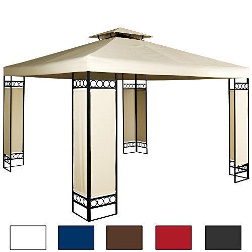 zelt design william 6x6m weiss rund pavillon partyzelt. Black Bedroom Furniture Sets. Home Design Ideas
