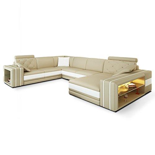 polsterecke bellucci mit beleuchtung farbwahl. Black Bedroom Furniture Sets. Home Design Ideas
