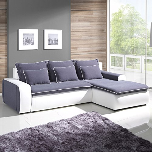 polsterecke sofa lumina mit schlaffunktion wohnlandschaft schlafsofa schlafcouch kunstleder. Black Bedroom Furniture Sets. Home Design Ideas