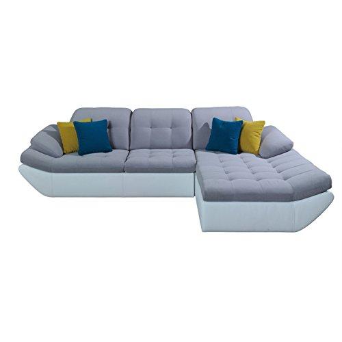 polsterecke sofa pallazzo mit schlaffunktion wohnlandschaft schlafsofa schlafcouch kunstleder. Black Bedroom Furniture Sets. Home Design Ideas