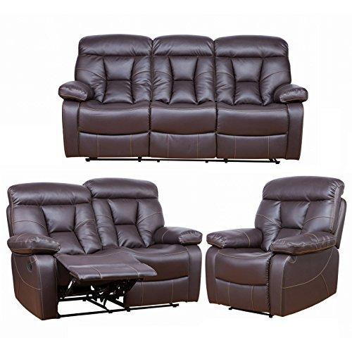 polstergarnitur couchgarnitur mit liegefunktion von maco. Black Bedroom Furniture Sets. Home Design Ideas
