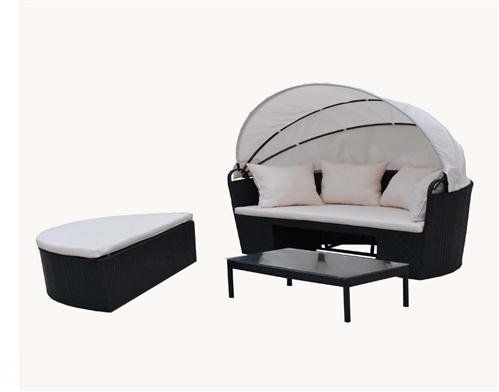 poly rattan liege sonnenliege strandkorb bett gartenm bel garten m bel sessel stuhl xxxl m bel24. Black Bedroom Furniture Sets. Home Design Ideas