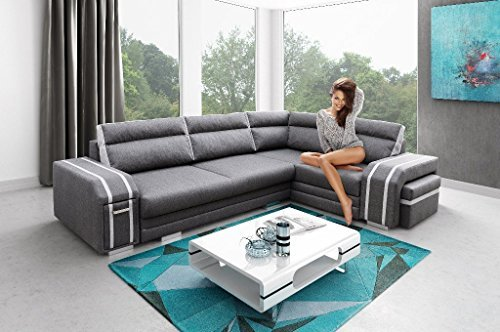 rkhouse ecksofa couch mit schlaffunktion eckcouch polstergarnitur wohnlandschaft avatar m bel24. Black Bedroom Furniture Sets. Home Design Ideas