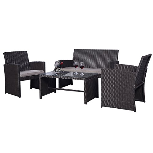 rattan set rattanm bel gartenm bel lounge polyrattan sitzgruppe garnitur garten m bel24. Black Bedroom Furniture Sets. Home Design Ideas