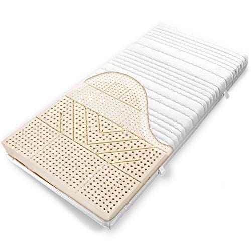 ravensberger 7 zonen natur latexmatratze latexco 85 natur h2 rg 75 45 80 kg baumwoll dt. Black Bedroom Furniture Sets. Home Design Ideas