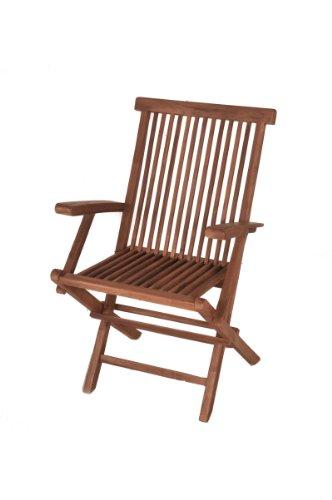 sam a klasse teak holz klappstuhl hochlehner surai. Black Bedroom Furniture Sets. Home Design Ideas