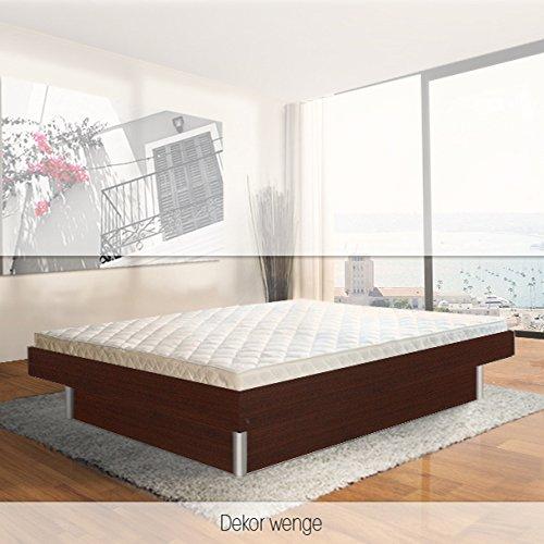 ORIGINAL bellvita Mesamoll II Wasserbett inkl. Lieferung mit Aufbau durch Fachpersonal in Komforthöhe und Bettrahmen 180 cm x 220 cm