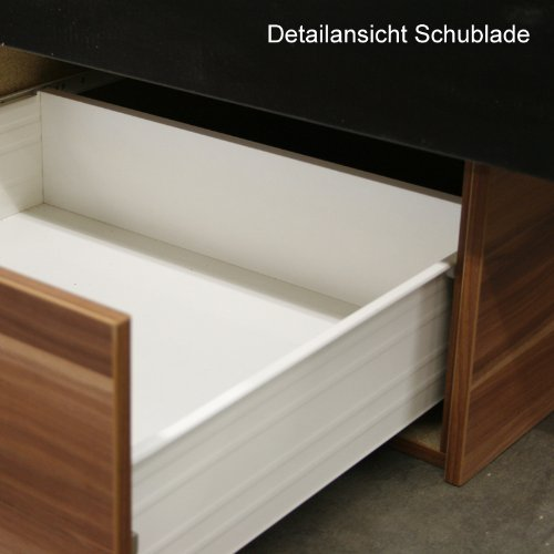 sonderaktion bellvita wasserbett mit schubladensockel in komforth he bettumrandung mit aufbau. Black Bedroom Furniture Sets. Home Design Ideas