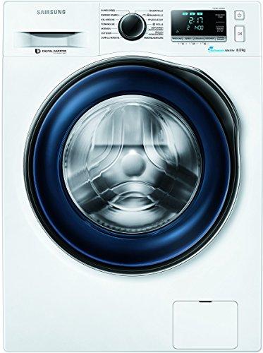 Samsung WW80J6400CW/EG Waschmaschine/A+++/Frontlader/1400 UpM 8 kg/SchaumAktiv/Trommelreinigung/blau