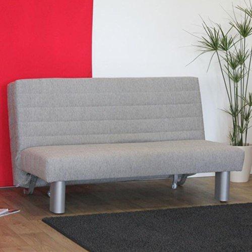schlafsofa grau axo breite 140 cm sitzpltze 2 sitzpltze pharao24 0 m bel24 m bel g nstig. Black Bedroom Furniture Sets. Home Design Ideas