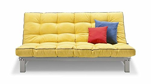 schlafsofa anthrazit stoff metallgestell couch liege bett g nstig. Black Bedroom Furniture Sets. Home Design Ideas