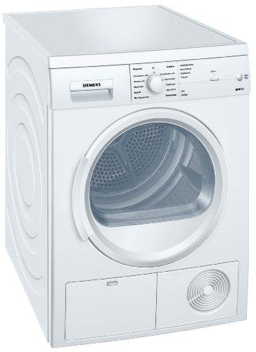 Siemens iQ300 WT46E103 iSensoric Kondenstrockner/B/7 kg/Weiß/softDry-Trommelsystem/TouchControl Tasten/Knitterschutz/Super40-Programm