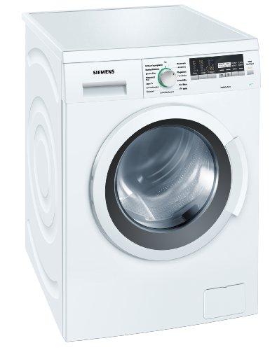 Siemens iQ500 WM14Q4ECO Waschmaschine Frontlader/A+++/1400 UpM/7 kg/AquaStop/Hemden/Business/weiß