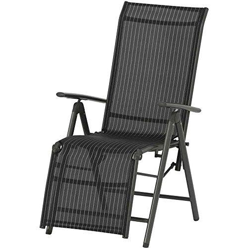 siena garden relaxsessel delphi 68x58 5x111cm gestell aluminium in anthrazit fl che. Black Bedroom Furniture Sets. Home Design Ideas