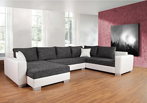 sofa couchgarnitur couch sofagarnitur puebla mit schlaffunktion u polstergarnitur polsterecke. Black Bedroom Furniture Sets. Home Design Ideas