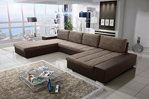 sofa couchgarnitur couch sofagarnitur verona 8 u polstergarnitur polsterecke wohnlandschaft mit. Black Bedroom Furniture Sets. Home Design Ideas