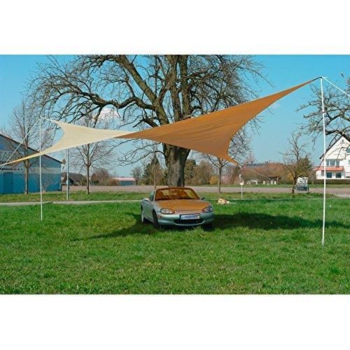sonnensegel quadratisch 50 m beige 0 m bel24 m bel g nstig. Black Bedroom Furniture Sets. Home Design Ideas