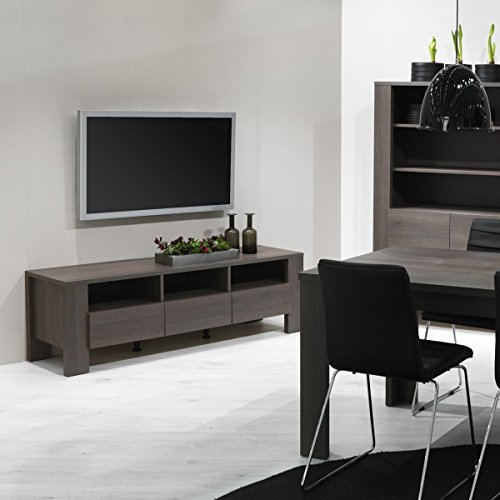 tv board lowboard danoro eiche anthrazit holz nachbildung breite 156 cm tiefe 497 cm h he 506 cm. Black Bedroom Furniture Sets. Home Design Ideas