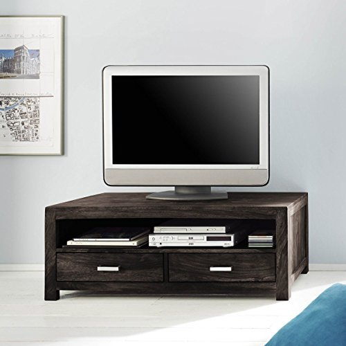 tv board lowboard wima massivholz holz sheesham massiv stone breite 120 cm tiefe 55 cm h he. Black Bedroom Furniture Sets. Home Design Ideas