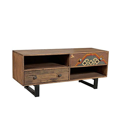 tv lowboard in braun bunt mangobaum pharao24 m bel24. Black Bedroom Furniture Sets. Home Design Ideas