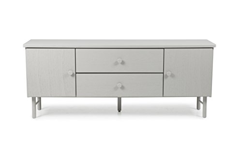 tenzo 4004 912 grain designer sideboard holz grau gebeizt 46 5 x 184 x 74 cm m bel24. Black Bedroom Furniture Sets. Home Design Ideas
