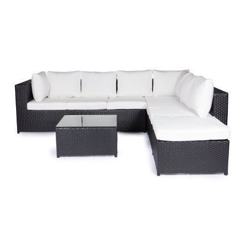 vanage montreal gartenm bel set xxxl sch ne polyrattan. Black Bedroom Furniture Sets. Home Design Ideas