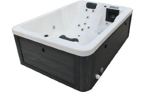 whirlpool badewanne outdoor vasa fit w195s schwarz 195 x 127 x 63 cm m bel24. Black Bedroom Furniture Sets. Home Design Ideas