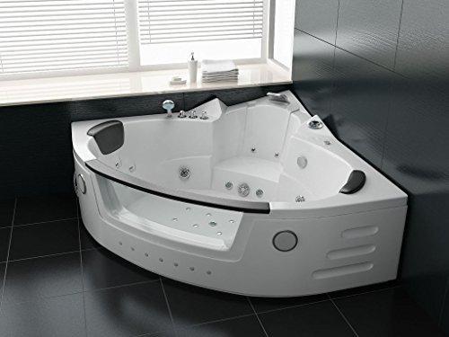 Whirlpool-Badewanne DREAM 152 x 152 cm