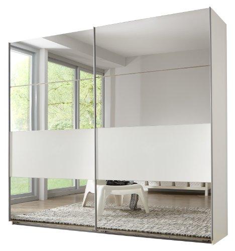 Wimex Kleiderschrank/ Schwebetürenschrank Focus, (B/H/T) 270 x 210 x 65 cm, Alpinweiß