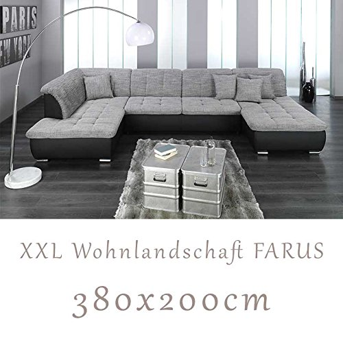 sofa xxl bigsofa glamour luxus microfaser curry. Black Bedroom Furniture Sets. Home Design Ideas