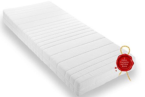 Wohnorama Qualitäts Rollmatratze 90x200 ca. 16cm Gesamthöhe eine Rollmatratze inkl. Klimafaser, Öko-Tex 100, 4 Seiten Reißverschluss,Schadstoffgeprüft LGA, 5 Jahre Garantie* eine Komfortschaummatratze