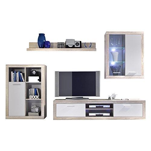 Schrankwand wohnzimmer gebraucht for Schrank wand