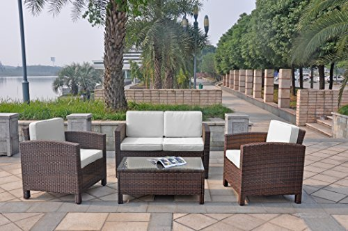 Xinro 13tlg deluxe lounge m bel set gruppe garnitur for Lounge sessel polyrattan