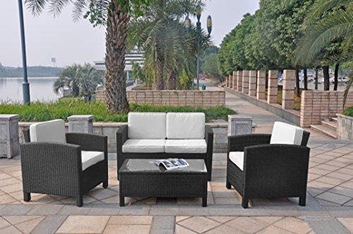 xinro 13tlg deluxe lounge m bel set gruppe garnitur. Black Bedroom Furniture Sets. Home Design Ideas