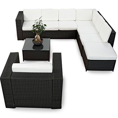 xinro xxl 22tlg gartenm bel lounge set g nstig 1x 1er. Black Bedroom Furniture Sets. Home Design Ideas