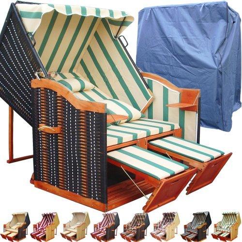 xinro xy 51 terrassen strandkorb inkl premium. Black Bedroom Furniture Sets. Home Design Ideas