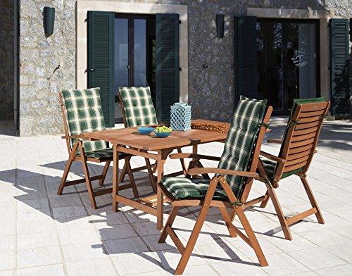 baumarkt direkt 9 tlg gartenm bel diningset la plata braun m bel24 m bel g nstig. Black Bedroom Furniture Sets. Home Design Ideas