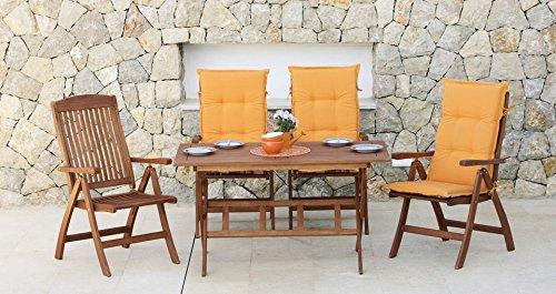 baumarkt direkt 9tlg gartenm bel diningset maracaibo braun m bel24. Black Bedroom Furniture Sets. Home Design Ideas