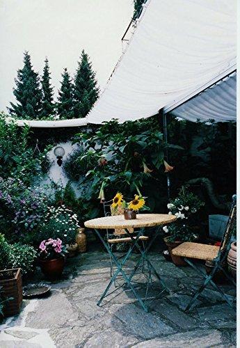 baumarkt direkt sonnensegel silbergrau in 3 gren 420 cm 0. Black Bedroom Furniture Sets. Home Design Ideas