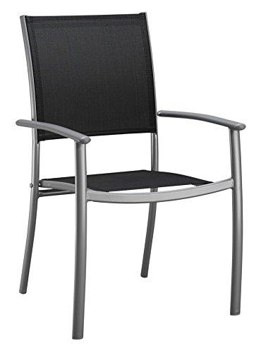 baumarkt direkt Stapelstuhl »Milano (2 Stück)« 2 Stühle, schwarz
