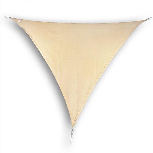 hanse marken sonnensegel sonnenschutz segel dreieck 3x4x4 m sand m bel24. Black Bedroom Furniture Sets. Home Design Ideas