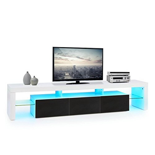 oneconcept orlando lowboard tv board fernsehschrank sideboard led material mdf. Black Bedroom Furniture Sets. Home Design Ideas