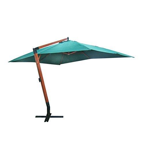 vidaxl 4x3m ampelschirm sonnenschirm sonnenschutz holz strandschirm gartenschirm m bel24. Black Bedroom Furniture Sets. Home Design Ideas