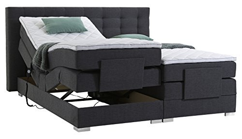 atlantic home collection mia motor boxspringbett stoff. Black Bedroom Furniture Sets. Home Design Ideas