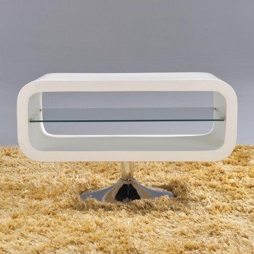 cag design lounge tv tisch fernsehtisch coop weiss hochglanz 80cm m bel24 m bel g nstig. Black Bedroom Furniture Sets. Home Design Ideas