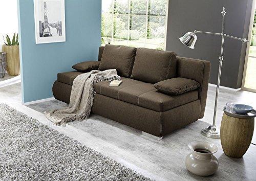 dauerschl fer dauerschlafsofa braun nosagfederung mit federkern inside boxspringverfahren 2. Black Bedroom Furniture Sets. Home Design Ideas