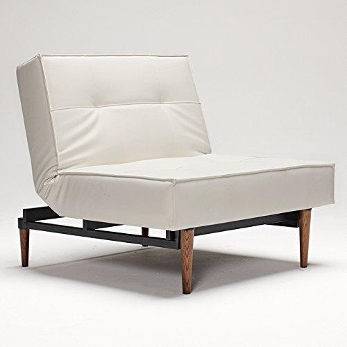 innovation sessel splitback styletto dunkel wei m bel24. Black Bedroom Furniture Sets. Home Design Ideas