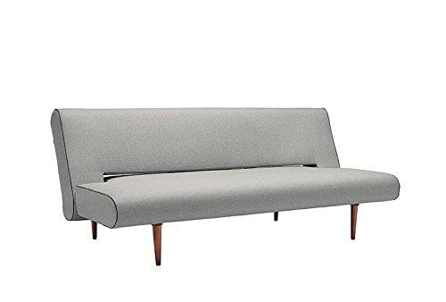 innovation unfurl schlafsofa hellgrau flashtex. Black Bedroom Furniture Sets. Home Design Ideas
